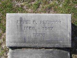 Effie D Peerson