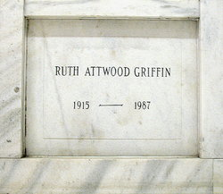 Ruth <I>Attwood</I> Griffin