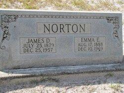 Emma E <I>Dowling</I> Norton