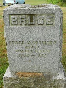 Grace M. <I>Springer</I> Bruce