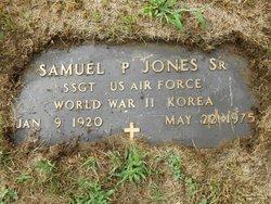 Sgt Samuel P. Jones, Sr