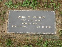 Paul M. Wilson