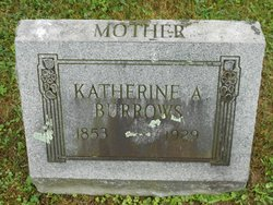 Katherine Amelia <I>Fisher</I> Burrows