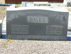 James D Bales, Sr