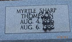 Myrtle <I>Sharp</I> Thompson