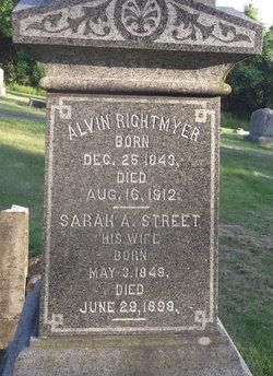 Sarah A. <I>Street</I> Rightmyer