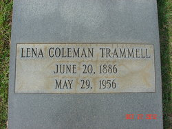 Lena <I>Coleman</I> Trammell