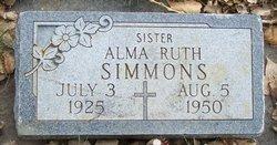Alma Ruth Simmons