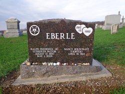 Rev Ralph Frederick Eberle, Jr