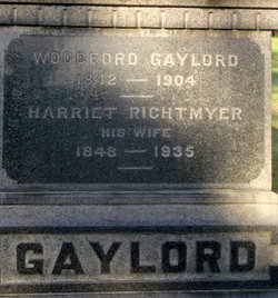 Harriet <I>Rightmyer</I> Gaylord