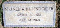 Mildred W Huffstickler