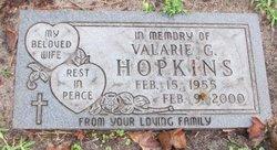 Valarie G Hopkins