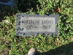 Gertrude Lyons