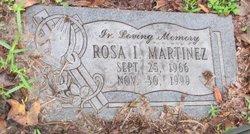 Rosa I Martinez