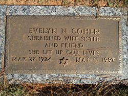 Evelyn Nettie <I>Goldstein</I> Cohen