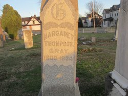 Margaret <I>Thompson</I> Gray