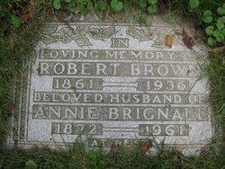 Annie <I>Brignall</I> Brown