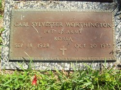 Pvt Carl Sylvester Worthington