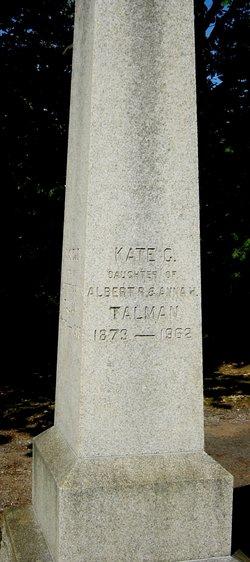 Kate C Talman