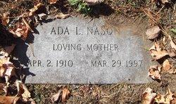 Ada Louise <I>Andrew</I> Nason