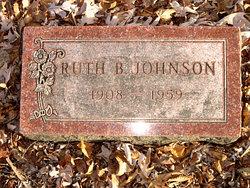 Ruth B. <I>Marshall</I> Johnson