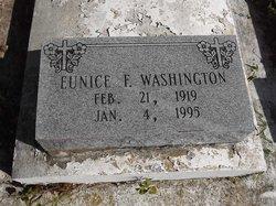 Eunice F Washington