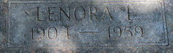 Lenora E. <I>Breshears</I> Martin
