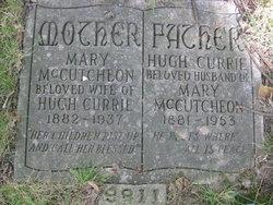 Mary Robertson <I>McCutcheon</I> Currie