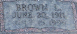 Brown L. McGee