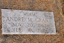 """Andre M """"Worm"""" Grant"""