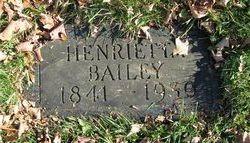 Henrietta L. Bailey