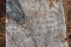John M Harper