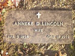 Anneke D. Lincoln