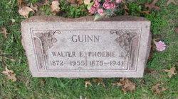 Walter E Guinn