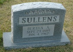Bertha Alice Sullens