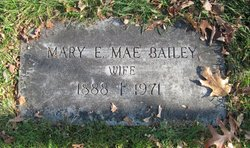"Mary E. ""Mae"" Bailey"