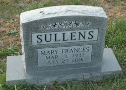 Mary Frances Sullens