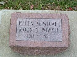 Helen M <I>Wicall</I> Powell