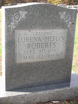 Lorena <I>Heflin</I> Roberts