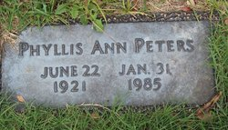 Phyllis Ann Peters