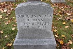 Cornelia <I>Noyes</I> Chamberlain