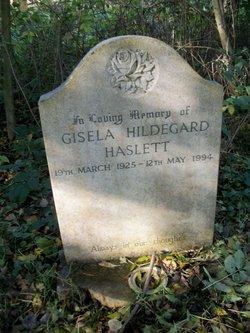 Gisela Hildegard Haslett