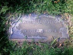 Esther L. <I>Dunn</I> Wilson