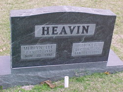 Merlyn Lee <I>Bennett</I> Heavin