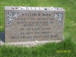 """William R """"Billy"""" Wolk"""