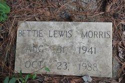 Bettie <I>Lewis</I> Morris