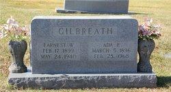 Earnest W Gilbreath