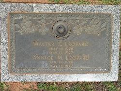 Walter E Leopard