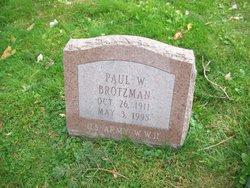 Paul W. Brotzman