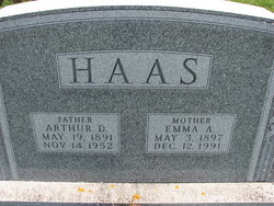 Emma A Hass